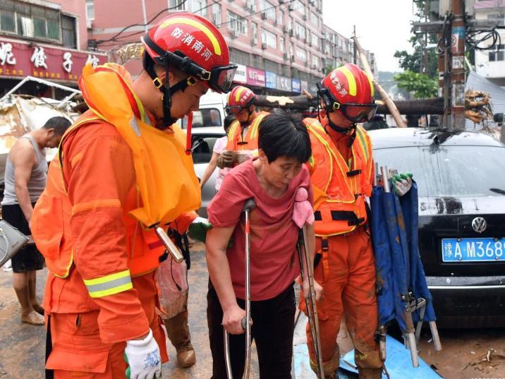 Relief efforts underway after Henan rainstorms