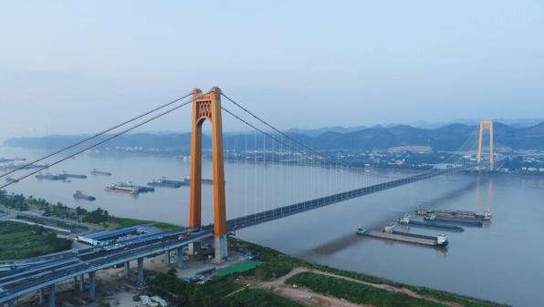 Wujiagang Yangtze River Bridge completed, making way for Chinese sturgeons