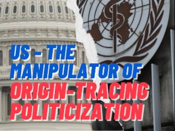 US - The manipulator of origin-tracing politicization
