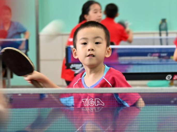 Primary school paves way for table tennis Olympic champions