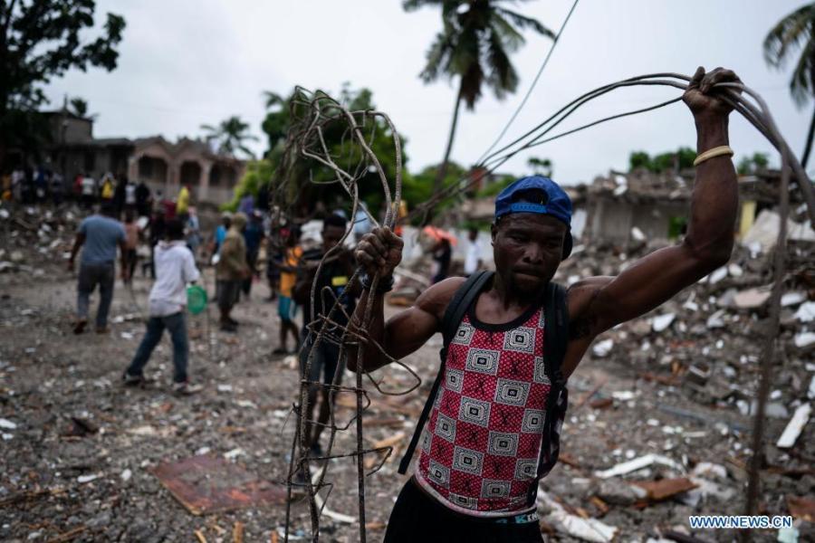 Haiti quake death toll climbs to 1,941