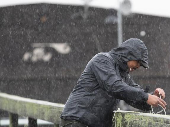 Tropical Storm Henri makes landfall in Northeast America