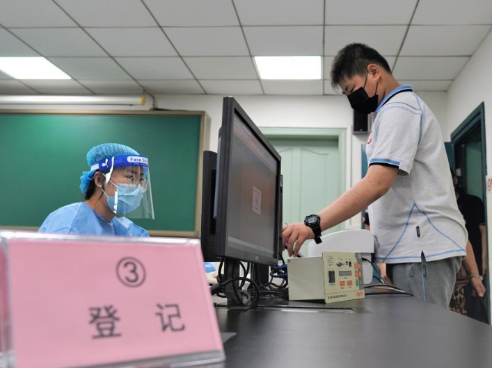 COVID-19 vaccination for minors aged 12-17 starts in Nanjing