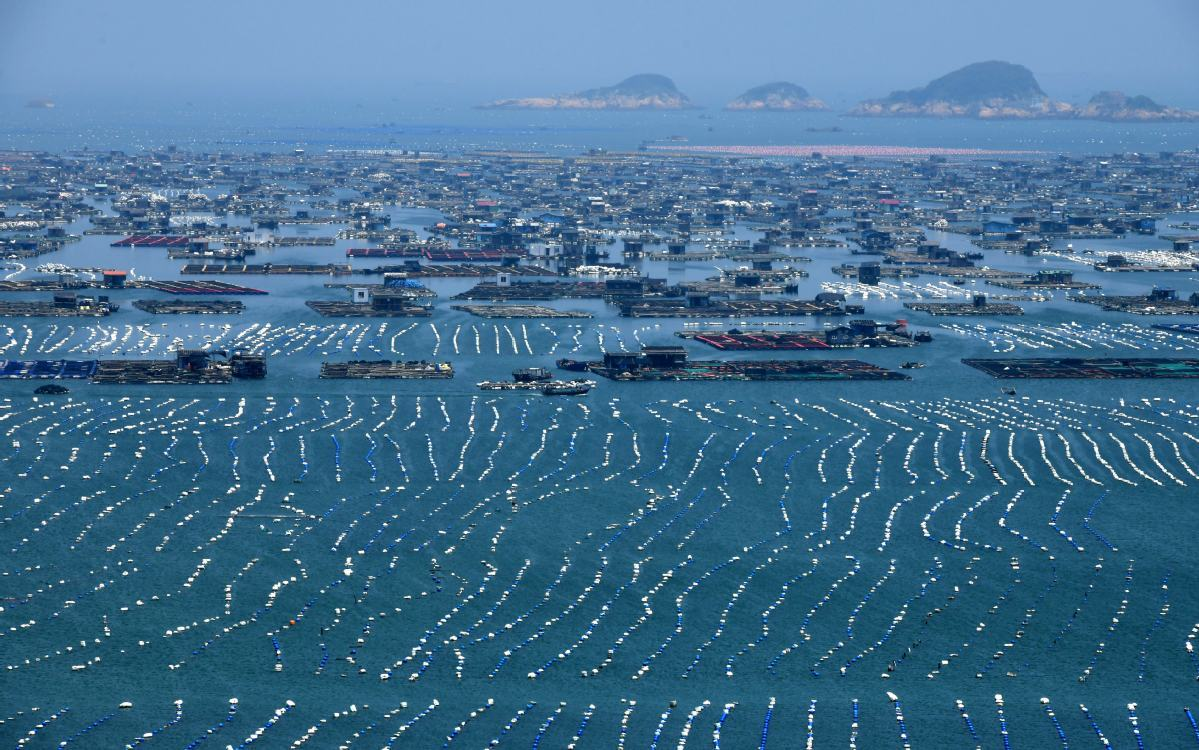 Coastal county in Fujian inspires awe with magnificent ocean scenery