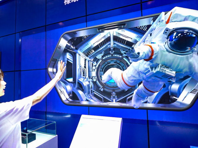 In pics: Smart China Expo 2021 showcases latest cutting-edge tech
