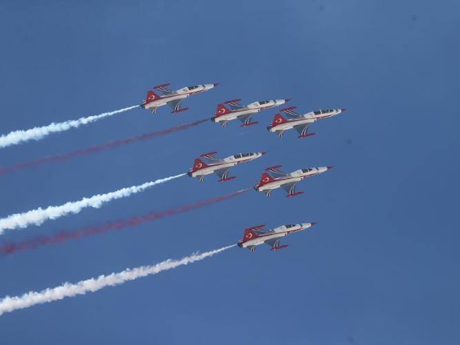 Sivrihisar Airshow 2021 kicks off in Turkey