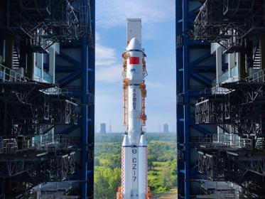China prepares to launch Tianzhou-3 cargo spacecraft