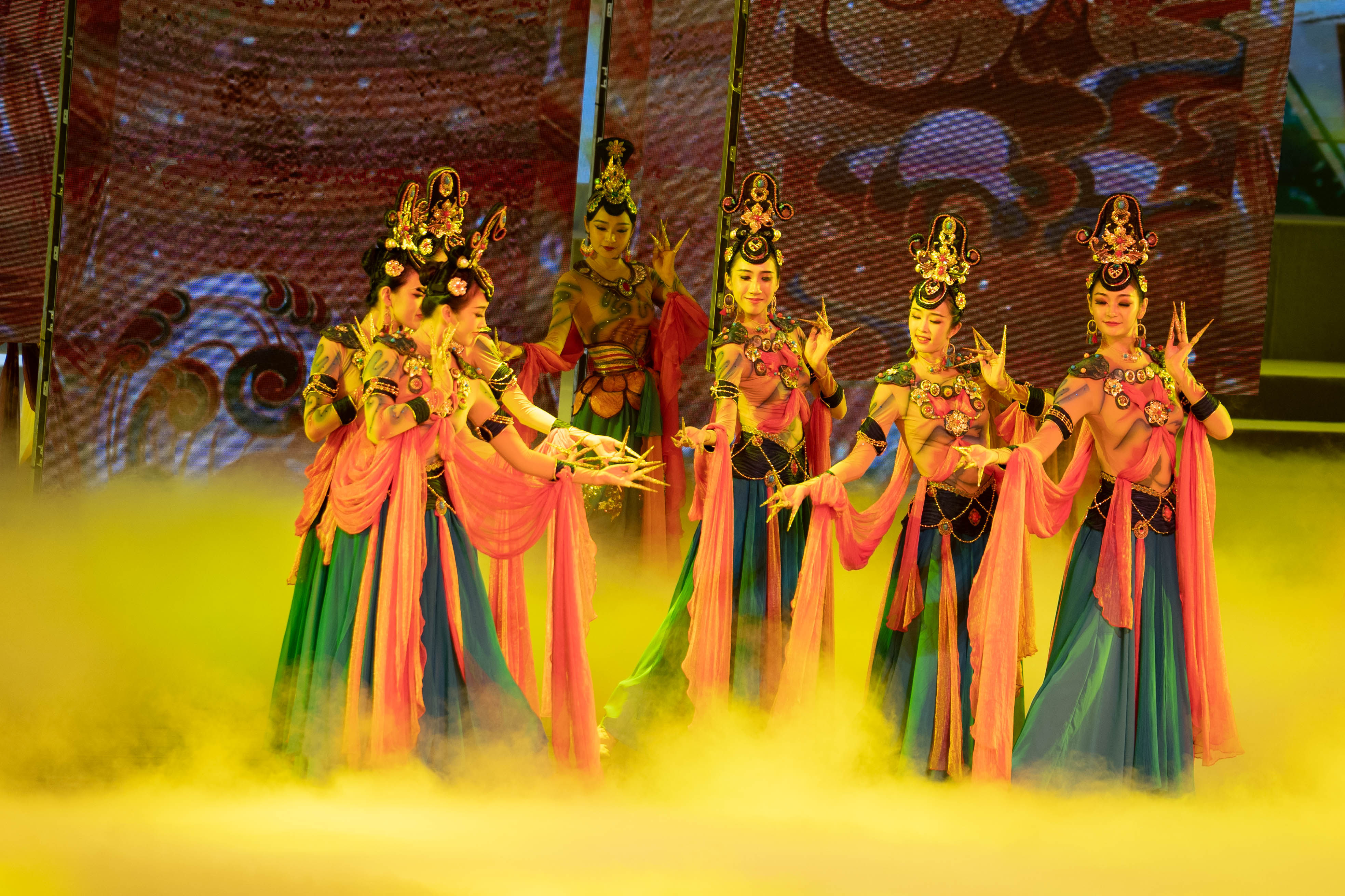 Highlights of The Belt And Road - The Great Wall International Folk Culture and Arts Festival opening ceremony