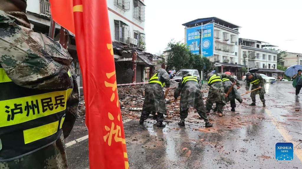 Death toll rises to 3 with 60 injured after 6.0-magnitude quake jolts Southwest China's Sichuan