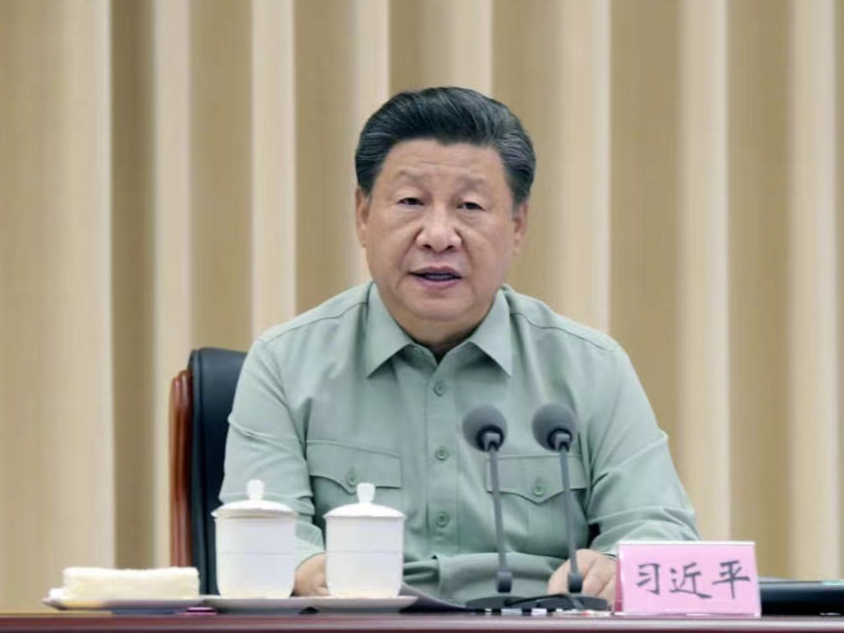 Xi inspects military base in northwest China's Shaanxi Province