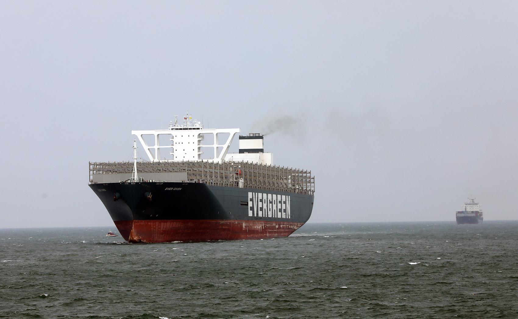 Ship that blocked Suez Canal is under repair