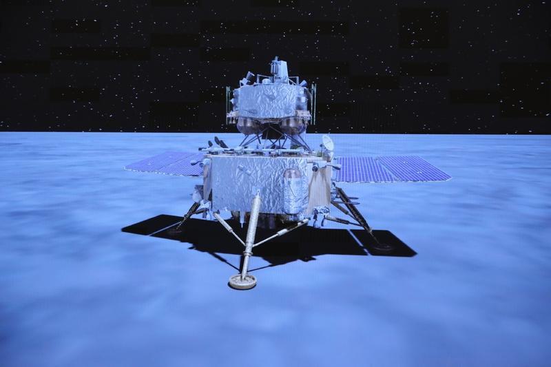 Lunar samples of Chang'e-5 aged 1.96 bln yrs: study