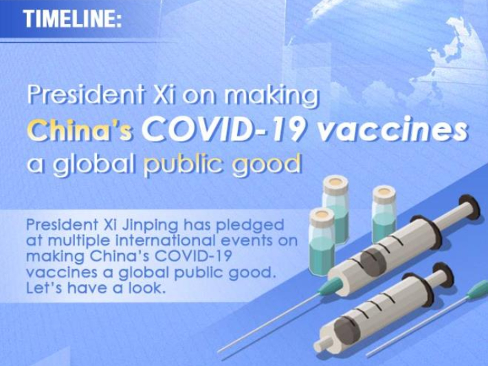 Timeline: Xi on making China's COVID-19 vaccines a global public good