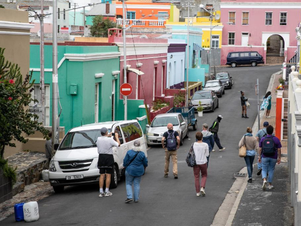 In pics: colorful houses in Cape Town, South Africa