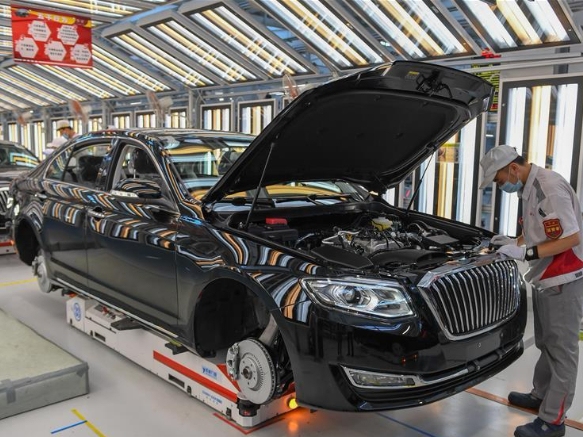 Chinese auto brands increase share of domestic market: association