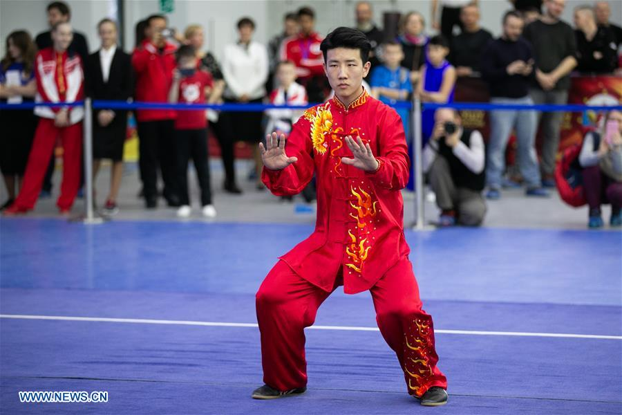 Highlights of opening ceremony for Moscow Wushu Stars 2019 competition