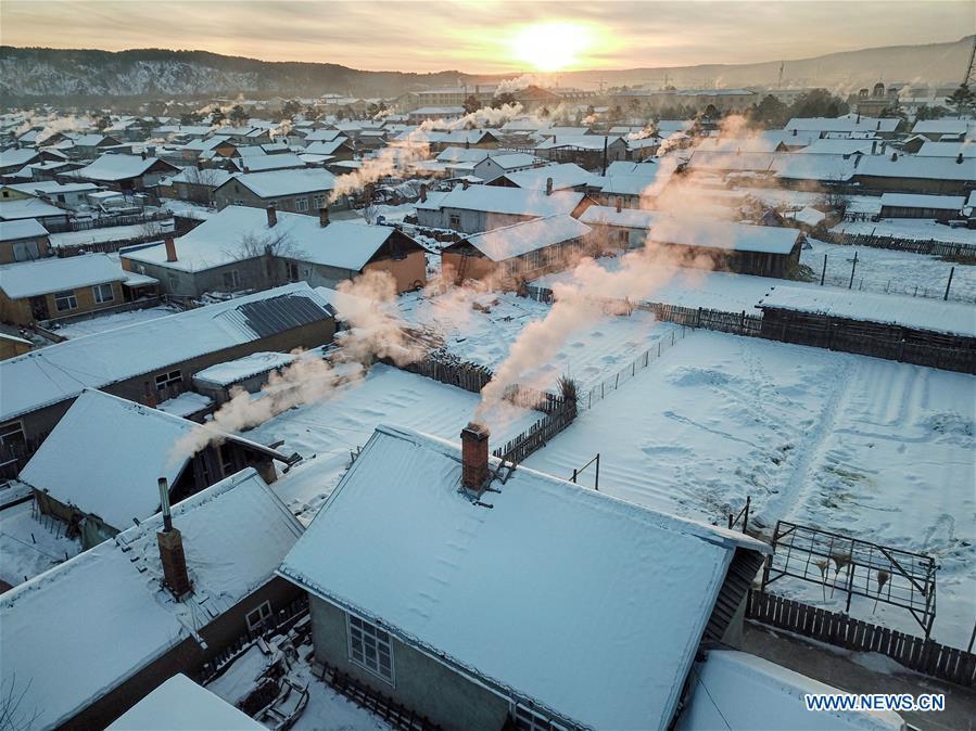Mohe greets peak tourism season as winter comes