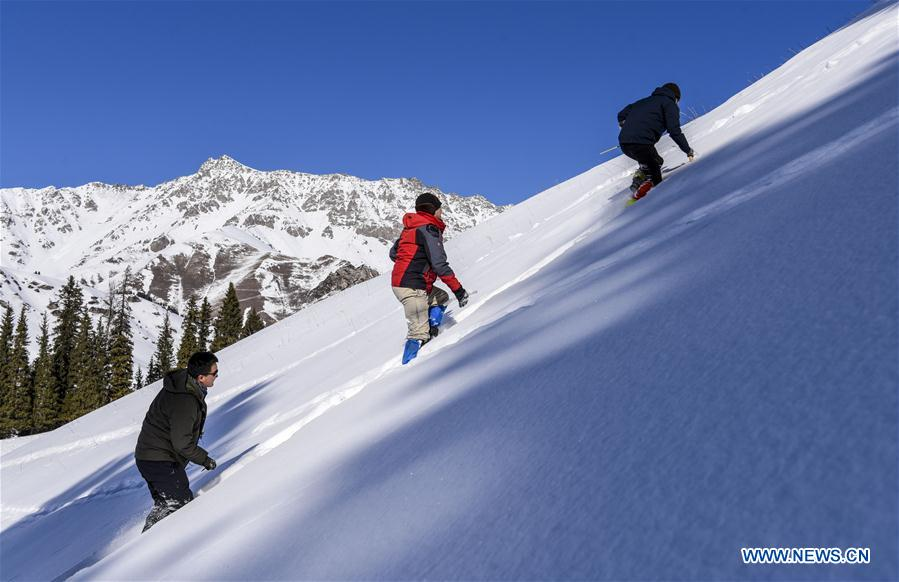 Research on snow cover on Tianshan Mountains launched in Xinjiang