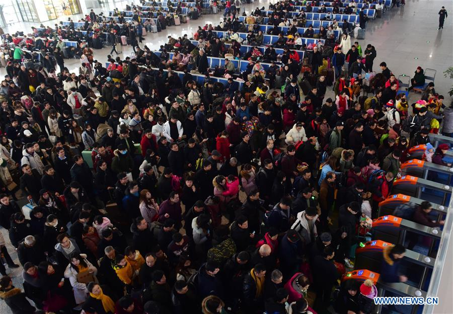 China's railways expected to face post-holiday travel peak over next few days