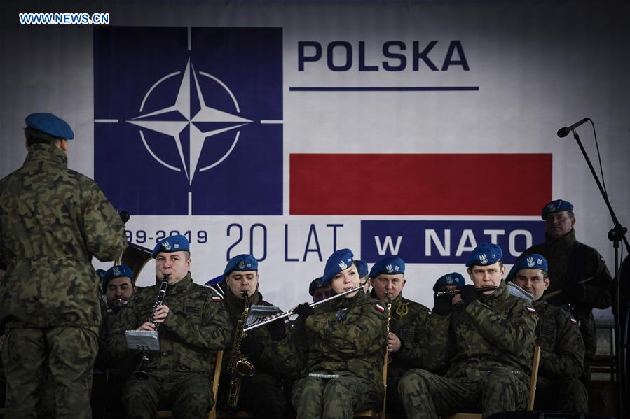 20th anniversary of Poland's joining NATO marked in Bydgoszcz