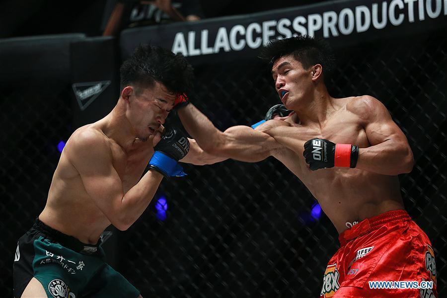 Highlights of ONE Championship Lightweight match in Pasay City, the Philippines