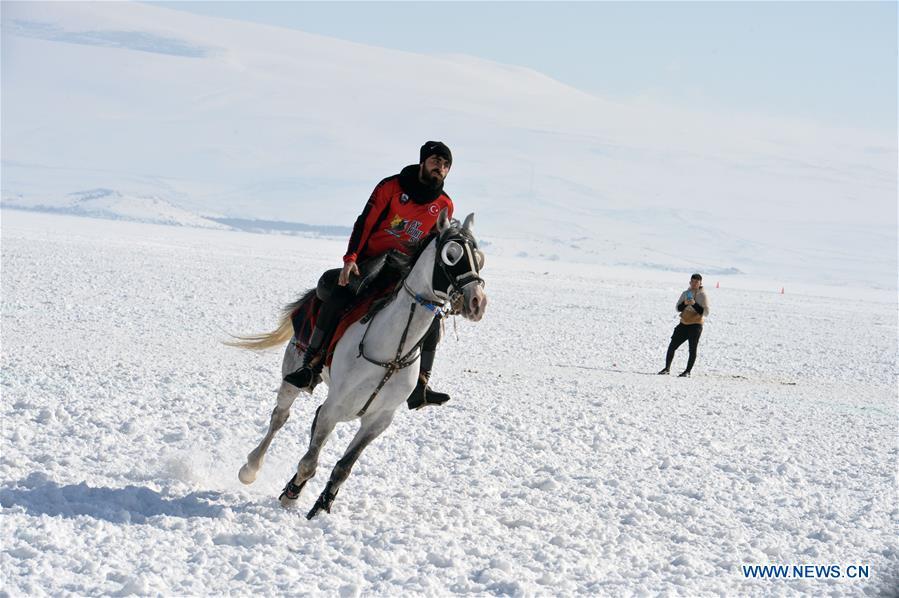 In pics: Cildir Lake Golden Horse Festival