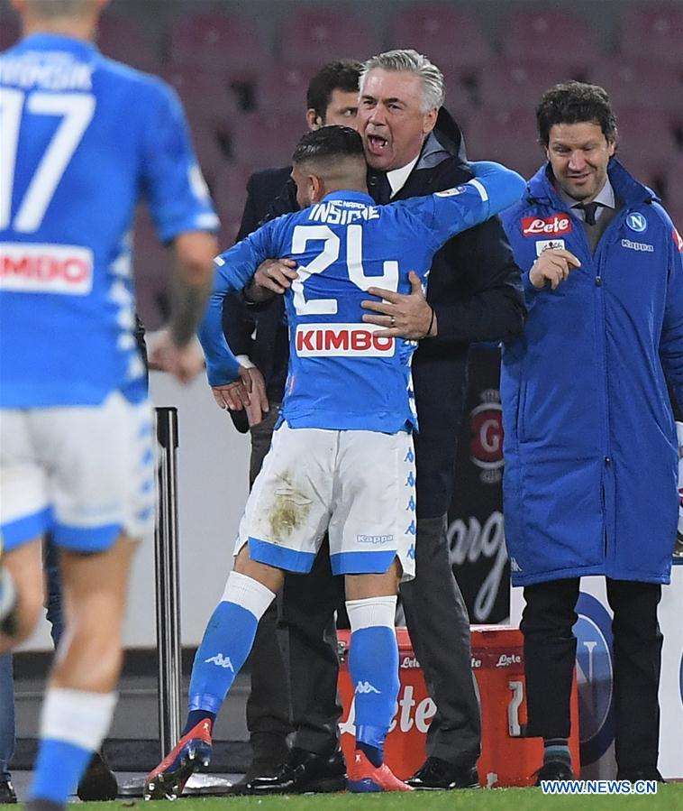 Italian Serie A soccer match: Napoli vs. Sampdoria