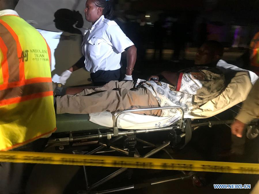One person seriously injured in Kenyan capital blast