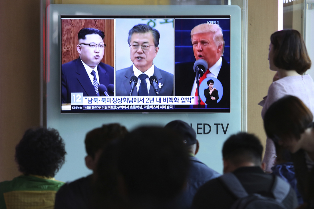 US, S. Korean leaders say to work closely for success of Trump-Kim meet
