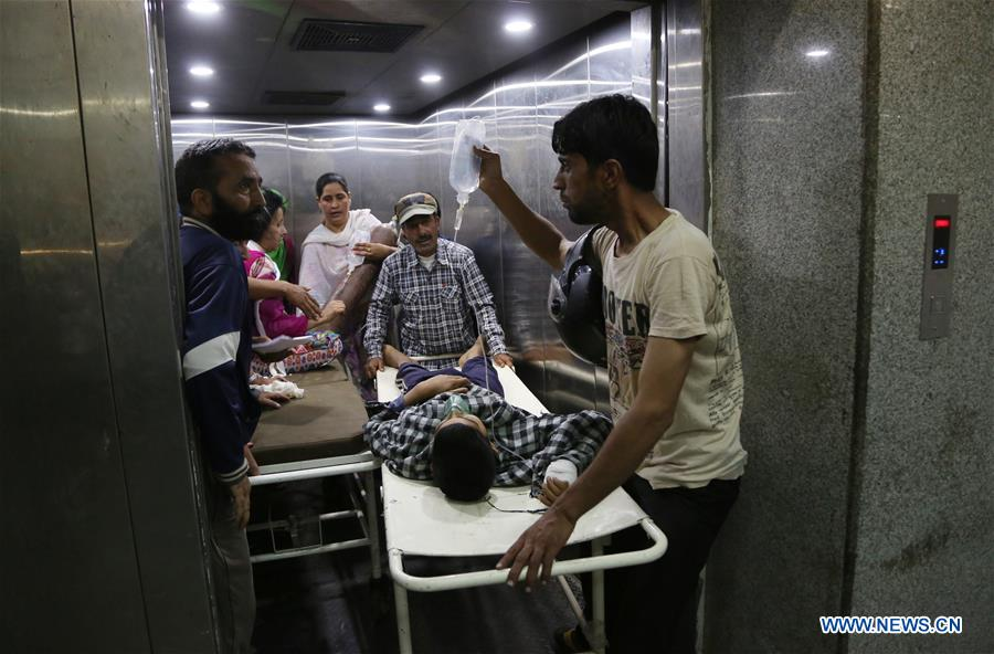 At least 6 civilians wounded in grenade attack in Indian-controlled Kashmir