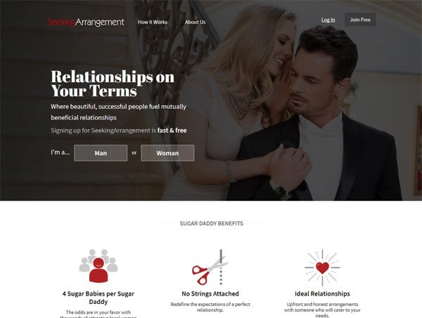 "Notorious ""sugar baby"" dating site Seeking Arrangement targets China"