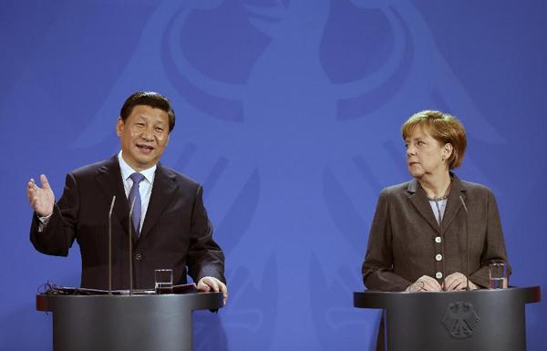 China-Germany ties at a glance