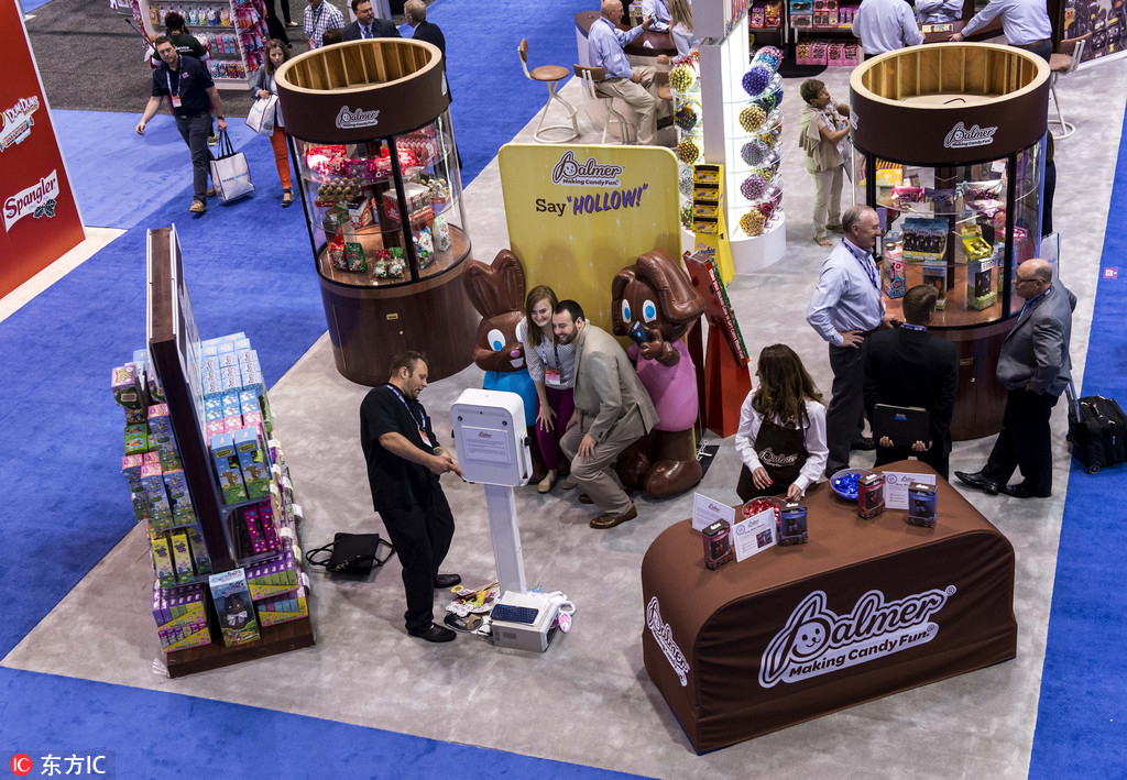 Chinese companies show up at Sweets & Snacks Expo