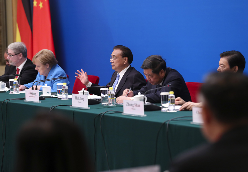 Premier Li urges German businesses to deepen cooperation with China