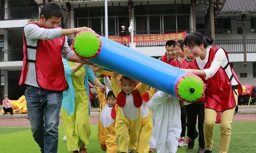 Activity held to greet Int'l Children's Day in central China's Hunan