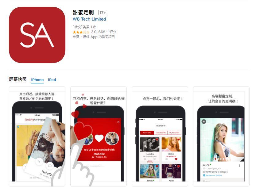 'Sugar dating' website not registered, operating in Shanghai