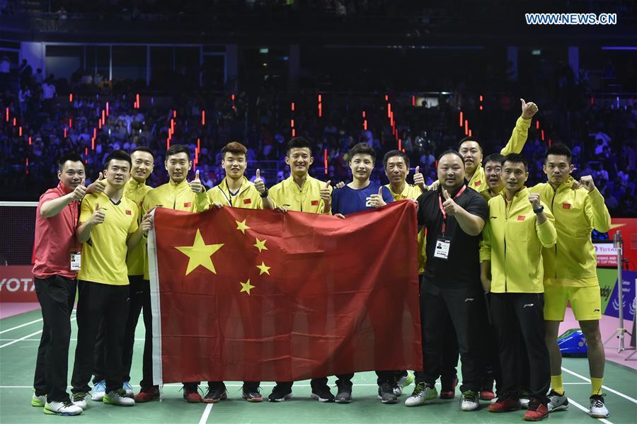 China beats Japan 3-1 to claim Thomas Cup
