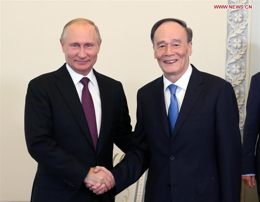 Chinese vice president pushes for closer partnership with Russia