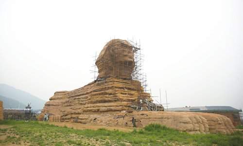 Controversial replica Sphinx returns to Hebei Province despite complaints from Egypt