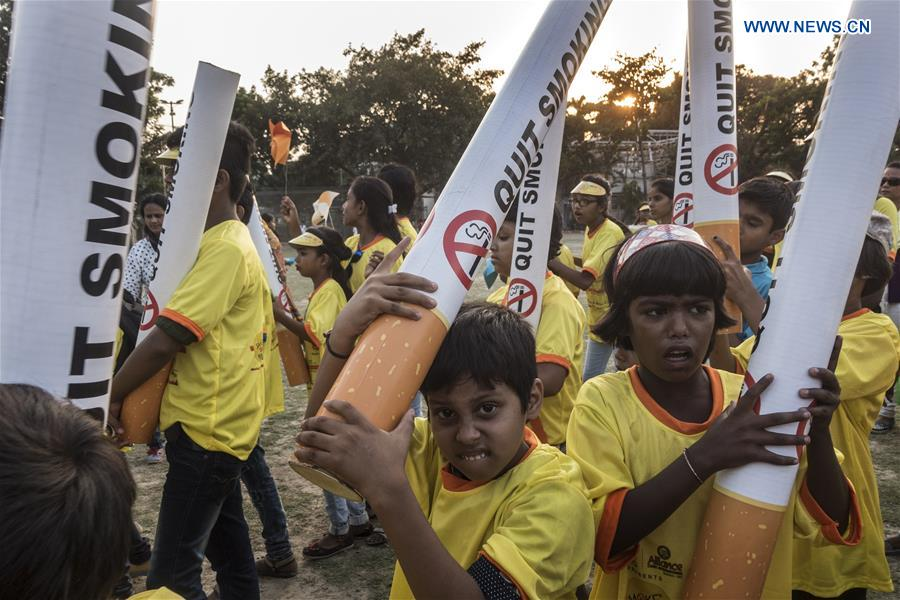 World No Tobacco Day marked in Kolkata, India
