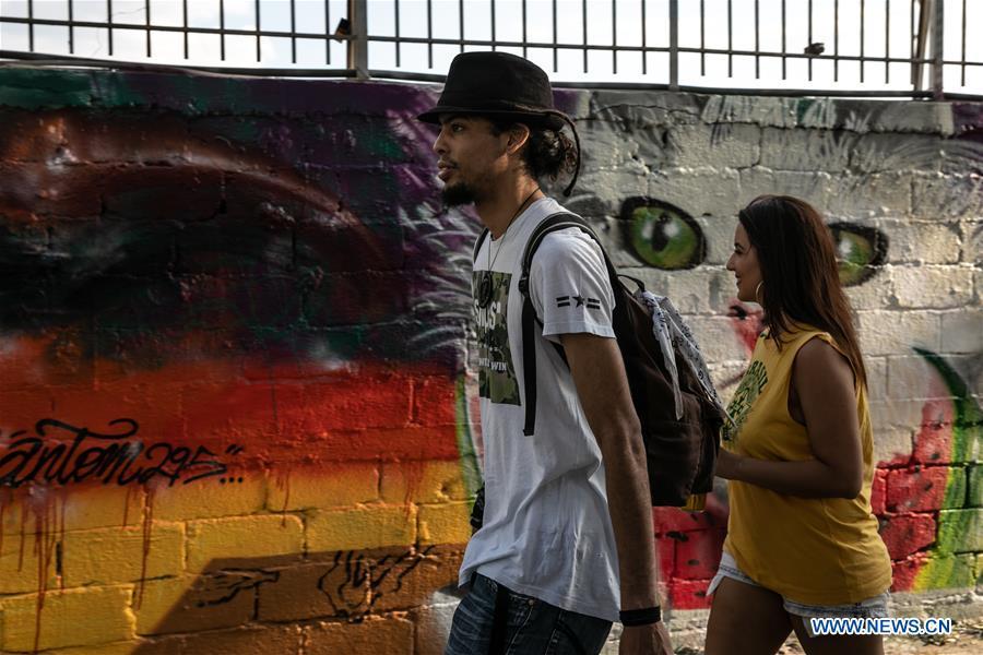 Artists attend Graffiti Festival in Athens