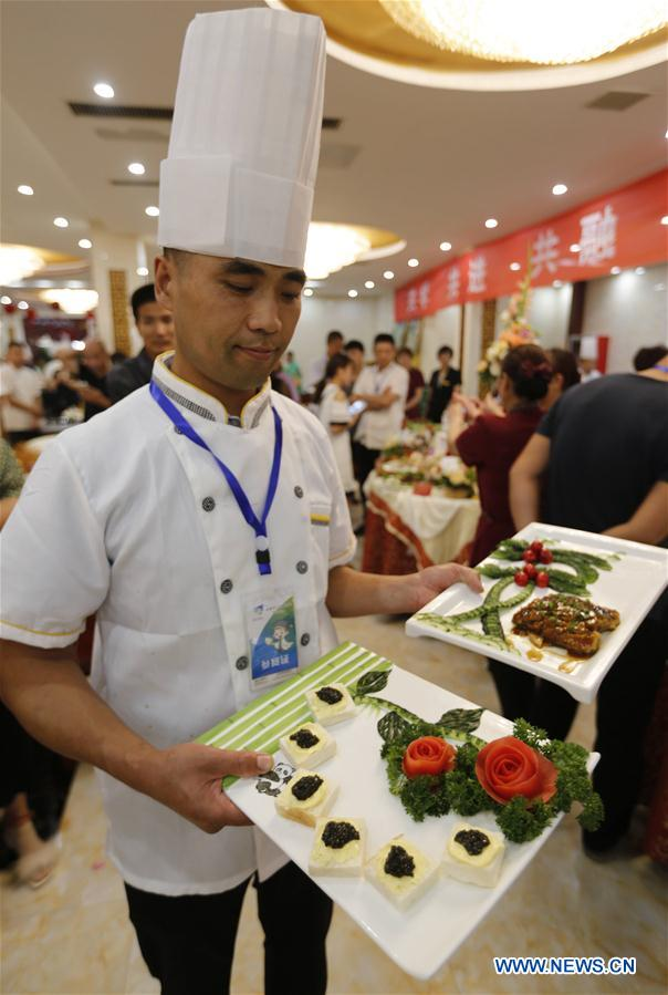 Cooking competition held in China's Shandong