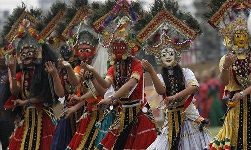 Republic Day celebrated in Kathmandu, Nepal