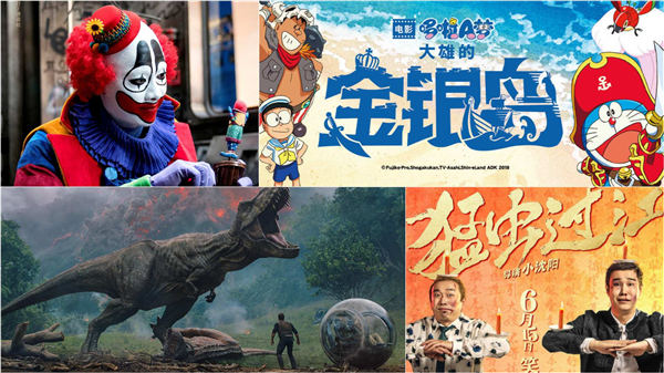 The Chinese and Hollywood films fighting it out in June