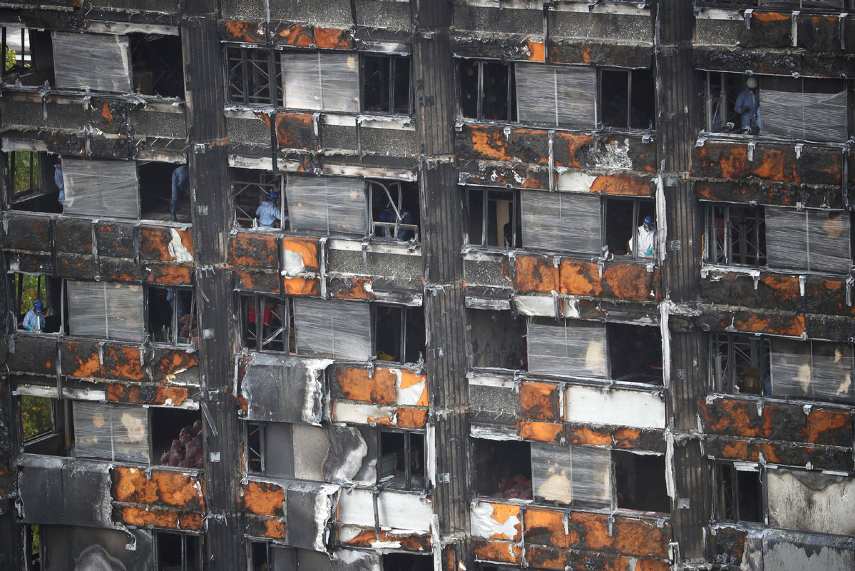 More questions raised as 1st phase of Grenfell Tower fire inquiry ends