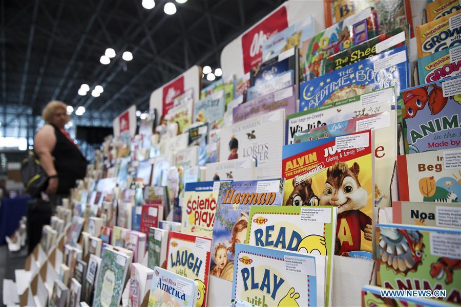 2018 BookExpo held in New York