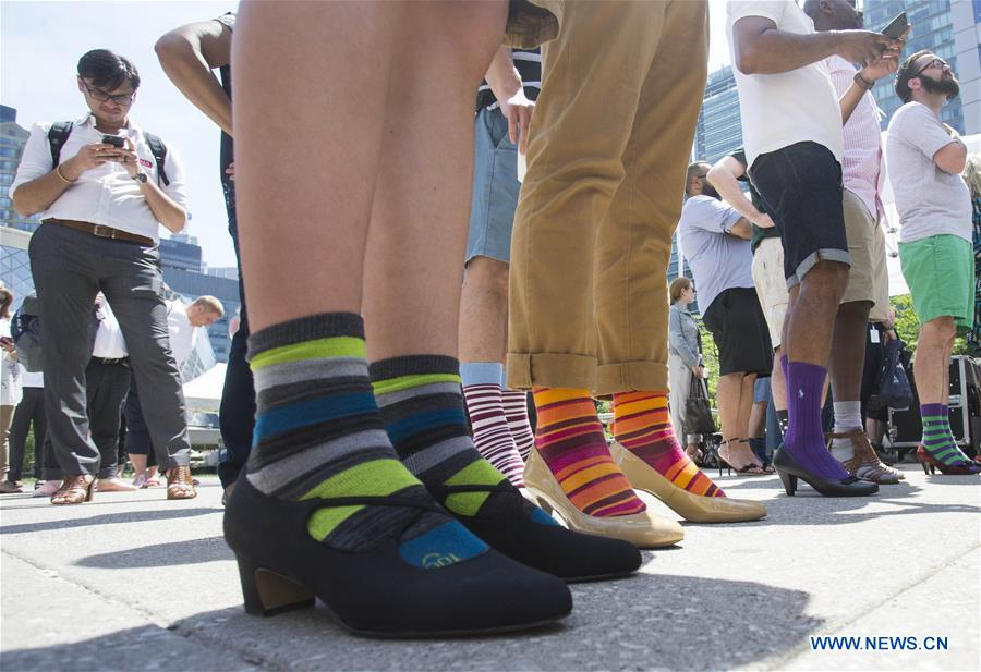 CANADA-TORONTO-WALK A MILE IN HER SHOES