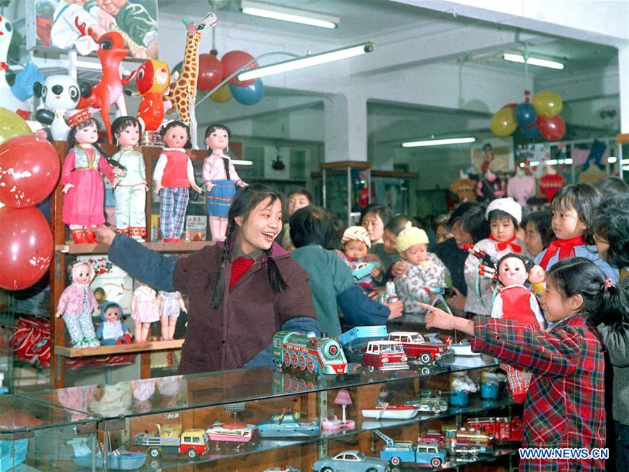 In pics: how Chinese celebrate Int'l Children's Day in the past