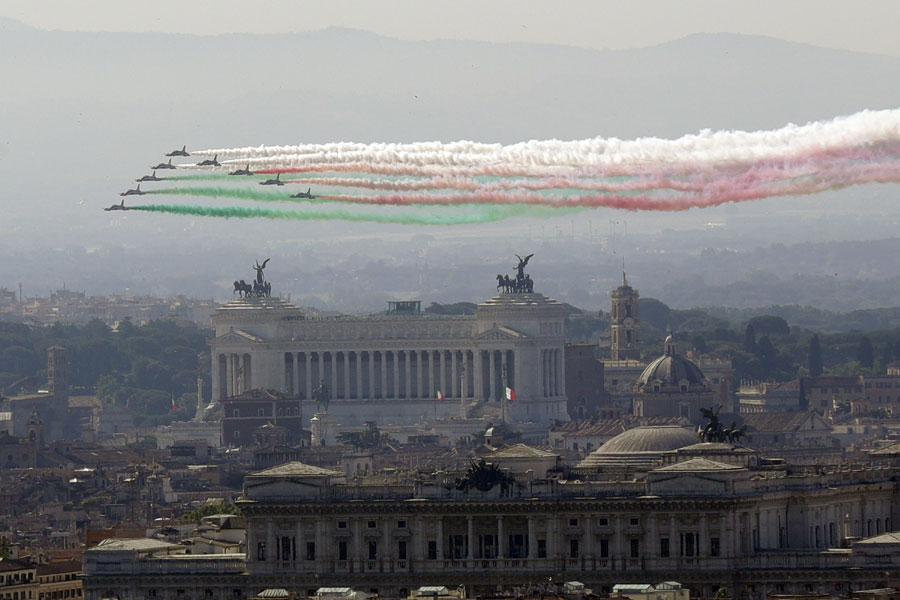 Republic Day marked in Italy