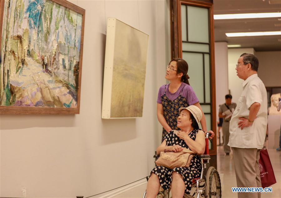 Academic Invitation Exhibition of Jiangxi Art Works held in Beijing